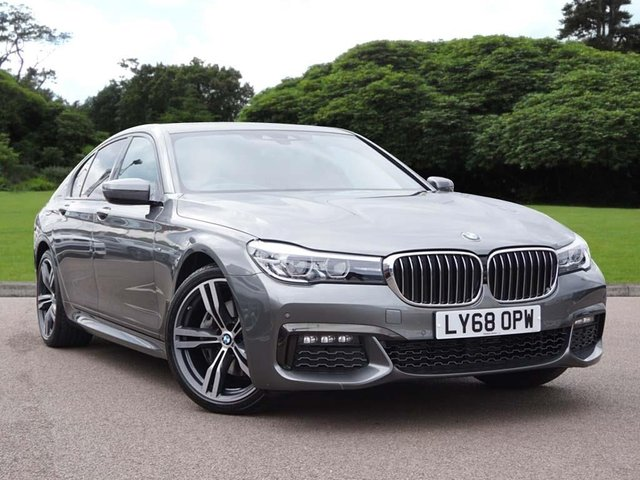 2018 68 BMW 7 SERIES 740d xDrive M Sport Saloon
