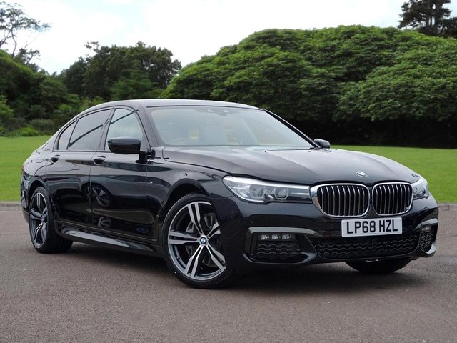 2018 68 BMW 7 SERIES 740Ld xDrive M Sport Saloon