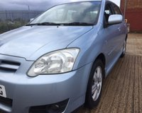 USED 2005 55 TOYOTA COROLLA 1.6 T3 COLOUR COLLECTION VVT-I 5d 109 BHP