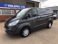 USED 2016 16 FORD TRANSIT CUSTOM 2.2 290 TREND L1 H1 125 BHP