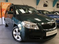 USED 2008 57 SKODA ROOMSTER 1.6 2 16V 5d AUTO 103 BHP