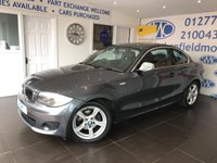 2012 BMW 1 SERIES 2.0 118D EXCLUSIVE EDITION 2d 141 BHP £7695.00