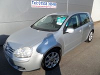 USED 2005 54 VOLKSWAGEN GOLF 2.0 GT TDI 5d 138 BHP 6 SPEED LOADS OF HISTORY