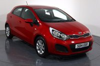 USED 2014 14 KIA RIO 1.2 VR7 5d 84 BHP 2 OWNERS From New