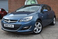 USED 2012 62 VAUXHALL ASTRA 1.4 SRI 5d 138 BHP WE OFFER FINANCE ON THIS CAR