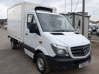 2014 MERCEDES-BENZ SPRINTER 313 CDI AUTOMATIC MWB CHILLER BOX, 130 BHP [EURO 5] £5995.00