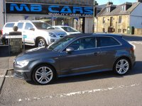 "USED 2016 16 AUDI A3 1.4 TFSI S LINE NAV 3d AUTO 148 BHP ONLY 29000 MILES FROM NEW,""AUTOMATIC"""