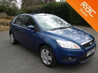 USED 2008 58 FORD FOCUS 1.6 STYLE 5d 100 BHP Great Size Family Car! Air Con, Alloy Wheels, Aux Input