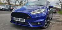 USED 2014 64 FORD FIESTA 1.6 ST-2 3d 180BHP HISTORY+HALF LEATHER SEATS+USB