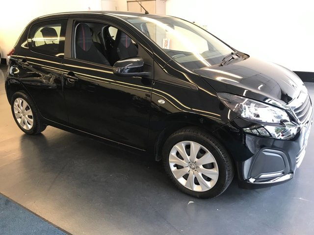 USED 2016 16 PEUGEOT 108 1.0 ACTIVE 5d AUTO 68 BHP NEW 12 MONTH MOT & FULL SERVICE, 1 OWNER FROM NEW, RAC WARRANTY,