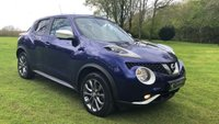 USED 2014 14 NISSAN JUKE 1.5 TEKNA DCI 5d 110 BHP **EXCELLENT FINANCE PACKAGES AVAILABLE**SAT NAV**REVERSE CAMERA**FULL LEATHER INTERIOR**