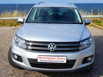 2015 VOLKSWAGEN TIGUAN 2.0 MATCH TDI BLUEMOTION TECHNOLOGY 4MOTION 5d 139 BHP £13495.00