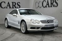 USED 2003 03 MERCEDES-BENZ SL 55 AMG 5.4 SL55 AMG KOMPRESSOR 2d 493 BHP Brilliant Silver Metallic / Full Graphite Nappa Leather Heated / Chilled Electric Memory Sports Seats + Massage Function, Satellite Navigation, Linguatronic, Automatic Bi-Xenon Headlights + Power Wash, 18 Inch Turbine Alloy Wheels, Harmon Kardon Premium Sound, Front and Rear Park Distance Control, Leather Multi Function Steering Wheel, Dual Zone Climate Control, Cruise Control, Heated Electric Powerfold Mirrors, On-board Computer.