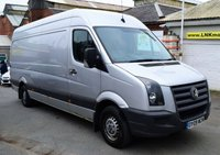USED 2009 09 VOLKSWAGEN CRAFTER 2.5 35LWB H/R 136 SHIFTMATIC 1d AUTO 135 BHP * RARE AUTOMATIC MODEL  *