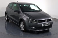 USED 2013 13 VOLKSWAGEN POLO 1.2 MATCH EDITION 3d 59 BHP 2 LADY OWNERS From New with 4 Stamp SERVICE HISTORY