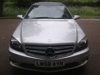 USED 2008 58 MERCEDES-BENZ CLC CLASS 2.1 CLC220 CDI SPORT 3d AUTO 150 BHP LEATHER INTERIOR + 3 MONTHS FREE WARRANTY ++ AUTOMATIC + PARKING SENSORS + PANORAMIC SUNROOF + MINT CONDITION CAR