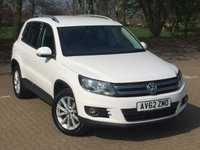 USED 2012 62 VOLKSWAGEN TIGUAN 2.0 SE TDI BLUEMOTION TECHNOLOGY 5d 138 BHP