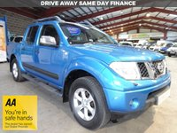 USED 2005 55 NISSAN NAVARA 2.5 AVENTURA DCI 4X4 LWB D/C 174 BHP DOUBLE CAB PICK UP AA DEALER WARRANTY PROMISE - TRADING STANDARDS APPROVED