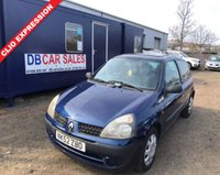 USED 2002 52 RENAULT CLIO 1.1 EXPRESSION 16V QUICKSHIFT 5 3d 75 BHP 0 DEPOSIT!! DRIVE AWAY TODAY