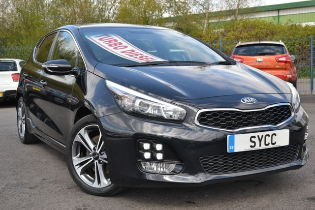 USED 2016 16 KIA CEED 1.6 CRDI GT-LINE ISG 5d 134 BHP BALANCE OF KIA WARRANTY UNTIL 2023 ~ SAT NAV ~ REVERSE CAMERA