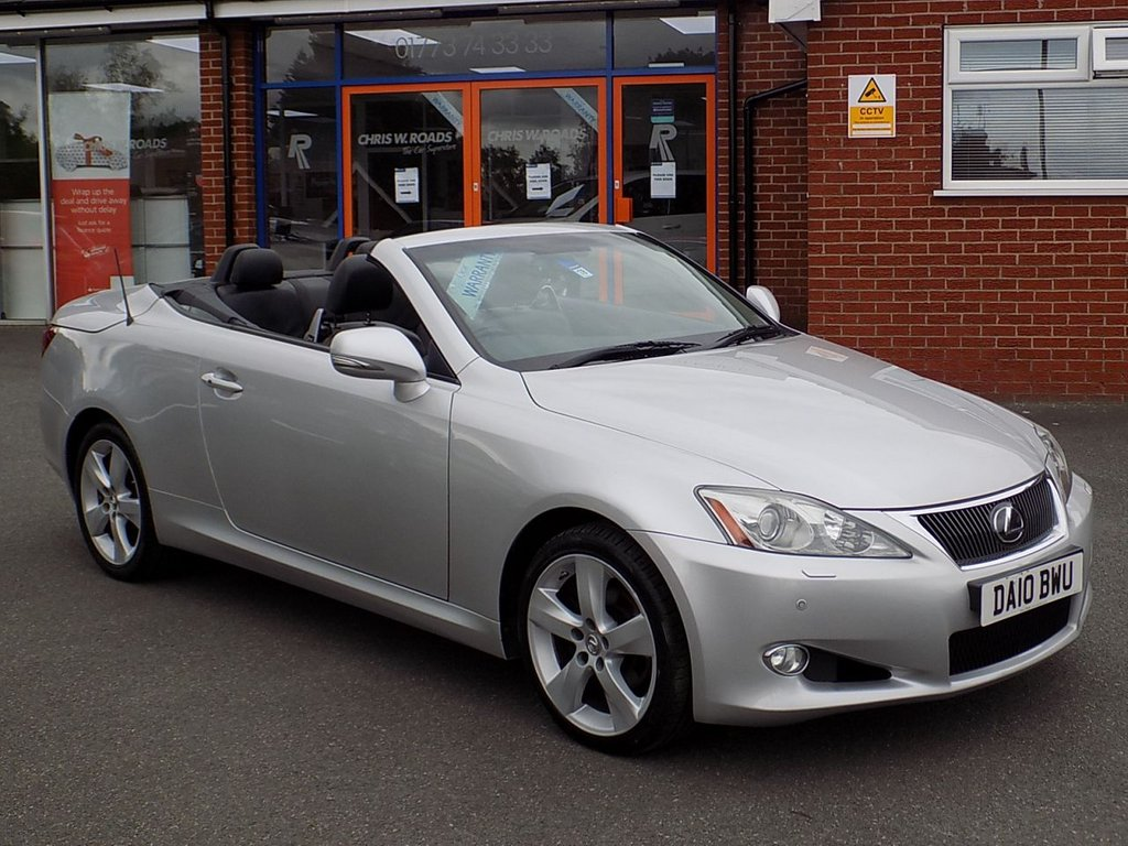 USED 2010 10 LEXUS IS 250C SE-L 2dr Auto Convertible ** Sat Nav + Leather + DAB **