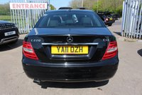 USED 2011 11 MERCEDES-BENZ C CLASS 2.1 C220 CDI BLUEEFFICIENCY SE EDITION 125 4d 170 BHP