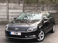 USED 2012 12 VOLKSWAGEN PASSAT 2.0 SE TDI BLUEMOTION TECHNOLOGY 4d 139 BHP FULL LEATHER INTERIOR/BLUEOOTH