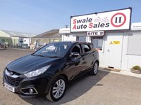 USED 2010 10 HYUNDAI IX35 2.0 STYLE CRDI 5 DOOR 134 BHP £31 PER WEEK, NO DEPOSIT - SEE FINANCE LINK