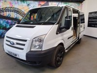 2012 FORD TRANSIT CAMPERVAN
