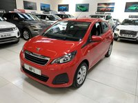 2017 PEUGEOT 108 1.0 ACTIVE 5d 68 BHP 2 TROINC AUTOMATIC HATCH  £7995.00