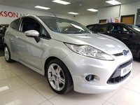 2011 FORD FIESTA 1.6 ZETEC S TDCI+FULL EXTERIOR BODY KIT+CAMBELT/WATER PUMP CHANGED+