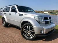 USED 2009 54 DODGE NITRO 2.8 SXT TD 5d AUTO 175 BHP **12 MONTHS WARRANTY INCLUDED**