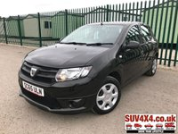 USED 2015 65 DACIA SANDERO 1.5 AMBIANCE DCI 5d 90 BHP R/CD PLAYER BLUETOOTH LOW MILEAGE. BLACK MET WITH BLACK CLOTH TRIM. COLOUR CODED TRIMS. BLUETOOTH PREP. R/CD PLAYER WITH AUX. MOT 04/20. SUV & 4X4 CAR CENTRE LS23 7FR. TEL 01937 849492 OPTION 2.