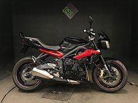 USED 2014 14 TRIUMPH STREET TRIPLE R ABS. 14. FSH. 7965 MILES. LOVELY CONDITION