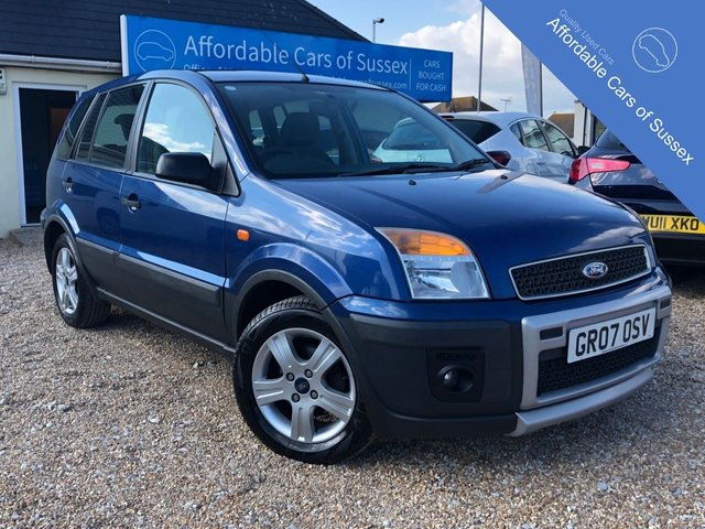 2007 07 FORD FUSION 1.4 PURSUIT CLIMATE LIMITED