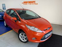 USED 2012 12 FORD FIESTA 1.2 ZETEC 3d 81 BHP **EXTREMELY LOW MILES**FULL HISTORY**