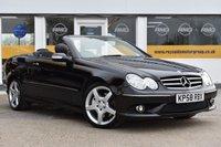2008 MERCEDES-BENZ CLK 3.0 CLK280 SPORT 2d AUTO 228 BHP £5999.00
