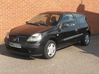 2003 RENAULT CLIO 1.1 EXPRESSION 16V 3d  £795.00