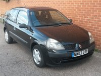 USED 2003 03 RENAULT CLIO 1.1 EXPRESSION 16V 3d