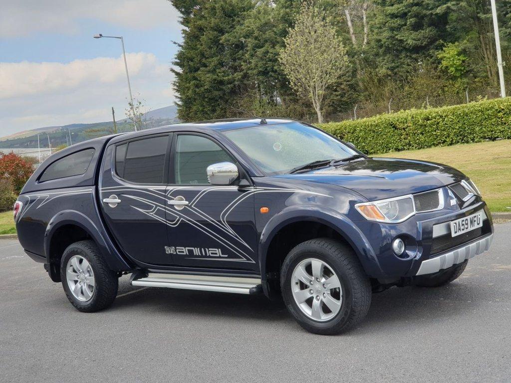 2009 Mitsubishi L200 Animal Lwb Dcb £6,950