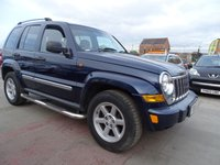 2006 JEEP CHEROKEE 2.8 LIMITED CRD AUTOMATIC DRIVES WELL £2495.00