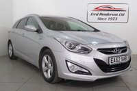 USED 2012 62 HYUNDAI I40 1.7 CRDI STYLE BLUE DRIVE 5d 134 BHP THIS EASY ACCESS, PRACTICAL YET STUNNING VEHICLE COMES TO YOU WITH JUST TWO FORMER KEEPER IN THE V5, TWO KEYS AND SERVICE HISTORY. TAX IS JUST £30 A YEAR AND THIS ECONOMICAL VEHICLE WILL RETURN YOU A FANTASTIC OFFICAL 63 MPG.