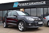 2014 VOLKSWAGEN TIGUAN 2.0 R LINE TDI BLUEMOTION TECHNOLOGY 4MOTION 5d 139 BHP £13995.00