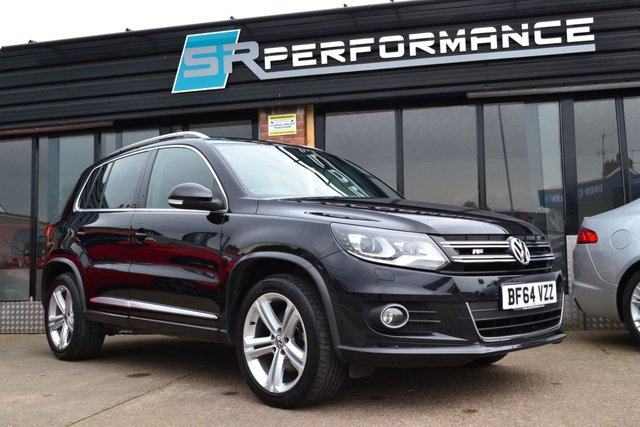 2014 64 VOLKSWAGEN TIGUAN 2.0 R LINE TDI BLUEMOTION TECHNOLOGY 4MOTION 5d 139 BHP