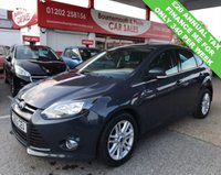 USED 2013 63 FORD FOCUS TITANIUM 1.6 TDCI 115 *£20 TAX GROUP*