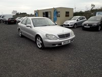 USED 2000 MERCEDES-BENZ S CLASS 3.2 S320 4d AUTO 221 BHP