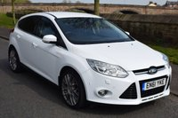 USED 2012 61 FORD FOCUS 2.0 TITANIUM X TDCI 5d 161 BHP SERVICE HISTORY, TWIN EXHAUST, SPORTS ALLOYS, REAR PRIVACY GLASS, HEATED SEATS, BLUETOOTH