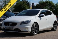 USED 2014 64 VOLVO V40 1.6 D2 R-DESIGN 5d 113 BHP NATIONWIDE DELIVERY AVAILABLE