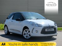 USED 2011 11 CITROEN DS3 1.6 DSPORT 3d 155 BHP LOW MILES, BLUETOOTH, CLIMATE