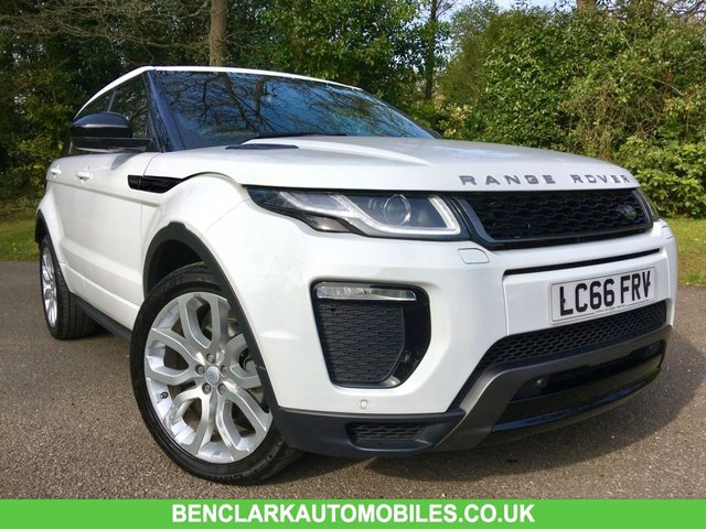 2016 66 LAND ROVER RANGE ROVER EVOQUE 2.0 TD4 HSE DYNAMIC 5d AUTO 177 BHPBLACK LEATHER/SATNAV/ONLY 26,000 MILES